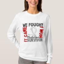 Survivor 5 Mesothelioma T-Shirt