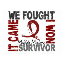 Survivor 5 Multiple Myeloma Postcard