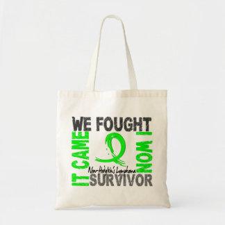 Survivor 5 Non-Hodgkin's Lymphoma Budget Tote Bag
