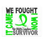 Survivor 5 Non-Hodgkin's Lymphoma Postcard