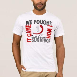 Survivor 5 Oral Cancer T-Shirt