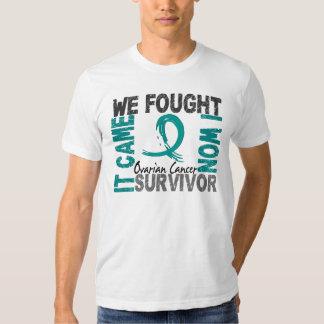 Survivor 5 Ovarian Cancer Shirt