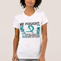 Survivor 5 Ovarian Cancer T-Shirt