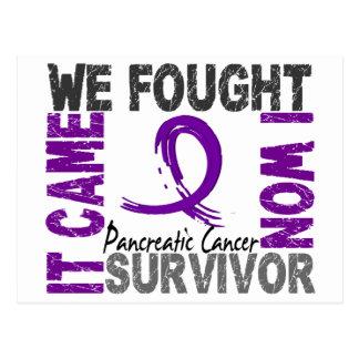 Survivor 5 Pancreatic Cancer Postcard