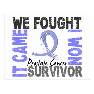Survivor 5 Prostate Cancer Postcard
