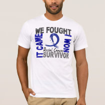 Survivor 5 Rectal Cancer T-Shirt