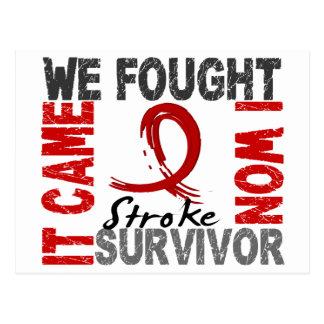 Survivor 5 Stroke Postcards