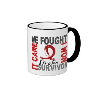 Survivor 5 Stroke Ringer Coffee Mug