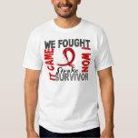 Survivor 5 Stroke Tshirts