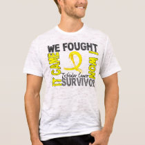 Survivor 5 Testicular Cancer T-Shirt