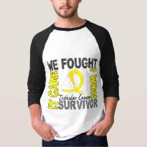 Survivor 5 Testicular Cancer T-Shirt