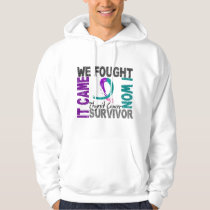 Survivor 5 Thyroid Cancer Hoodie