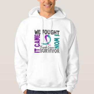 Survivor 5 Thyroid Cancer Hoodie