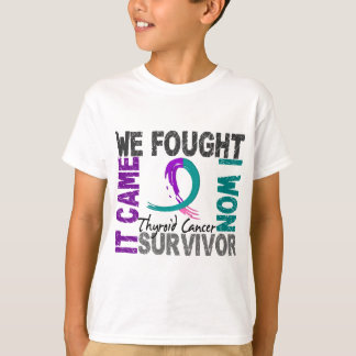 Survivor 5 Thyroid Cancer T-Shirt
