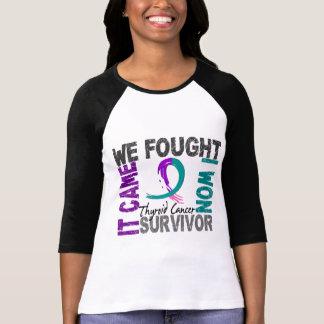 Survivor 5 Thyroid Cancer T Shirt