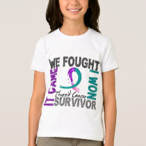 Survivor 5 Thyroid Cancer T-Shirt