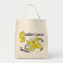 Survivor 6 Bladder Cancer Tote Bag