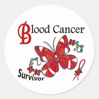 Survivor 6 Blood Cancer Sticker