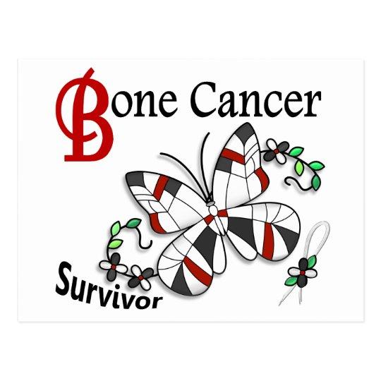 Survivor 6 Bone Cancer Postcard