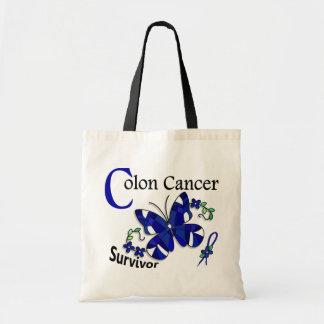 Survivor 6 Colon Cancer Tote Bag