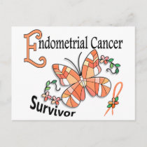 Survivor 6 Endometrial Cancer Postcard