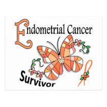 Survivor 6 Endometrial Cancer Postcard