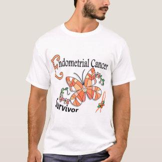 Survivor 6 Endometrial Cancer T-Shirt