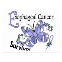 Survivor 6 Esophageal Cancer Postcard