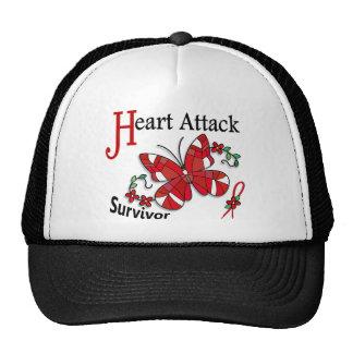 Survivor 6 Heart Attack Mesh Hat