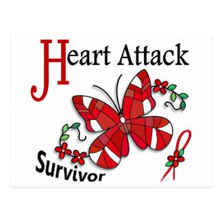 Survivor 6 Heart Attack Postcards