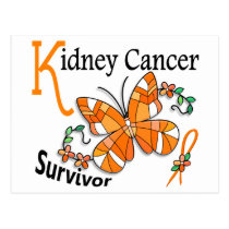Survivor 6 Kidney Cancer Postcard