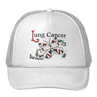 Survivor 6 Lung Cancer Trucker Hat