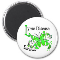 Survivor 6 Lyme Disease Magnet