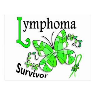 Survivor 6 Lymphoma Postcard