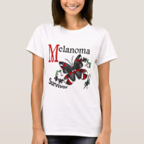 Survivor 6 Melanoma T-Shirt