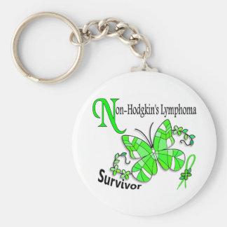Survivor 6 Non-Hodgkins Lymphoma Key Chain