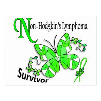 Survivor 6 Non-Hodgkins Lymphoma Postcard