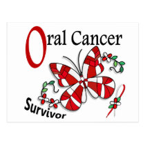 Survivor 6 Oral Cancer Postcard