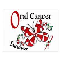 Survivor 6 Oral Cancer Postcard