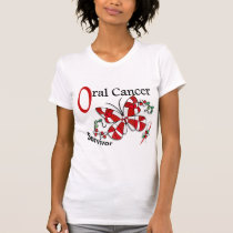 Survivor 6 Oral Cancer T-Shirt