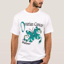Survivor 6 Ovarian Cancer T-Shirt