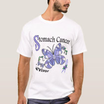 Survivor 6 Stomach Cancer T-Shirt