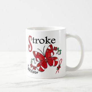 Survivor 6 Stroke Classic White Coffee Mug