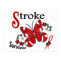 Survivor 6 Stroke Postcard