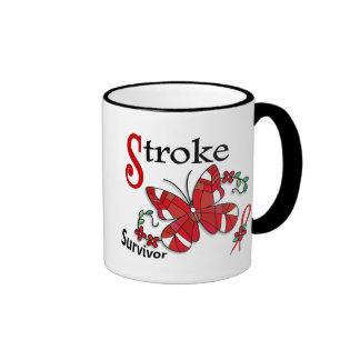 Survivor 6 Stroke Ringer Coffee Mug