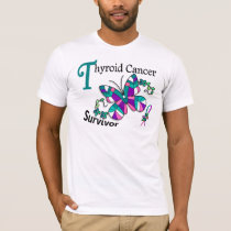 Survivor 6 Thyroid Cancer T-Shirt
