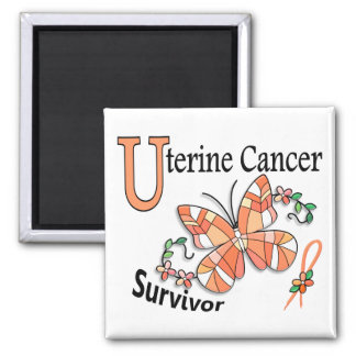 Survivor 6 Uterine Cancer Magnet