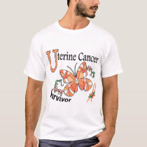 Survivor 6 Uterine Cancer T-Shirt