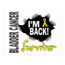 Survivor 7 Bladder Cancer Postcard