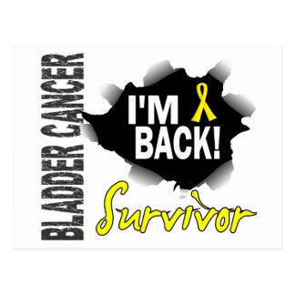Survivor 7 Bladder Cancer Postcard